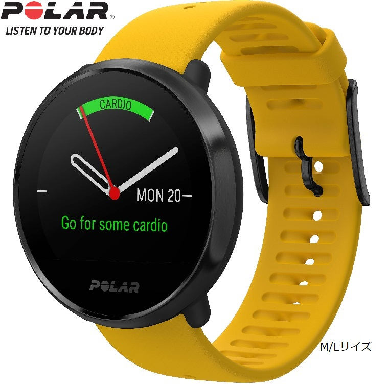 POLAR(ポラール)Polar Ignite(イエローM/Lサイズ)国内正規品