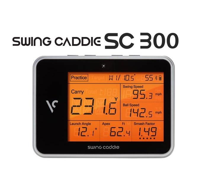 Swing Caddie SC300 (スイングキャディーエスシー300)正規品【送料・代引手数料無料】2019年モデル高性能レーダー
