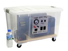 ポータブル蓄電システム「TDS-1205」 100Ah【送料無料!メーカー直送品(※代引不可)】