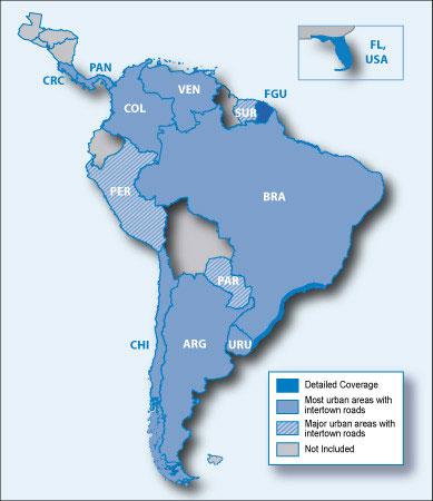 City Navigator South America NT microSD/SD card(シティナビゲーター 南米 NT microSD/SDカード)GARMIN(ガーミン)