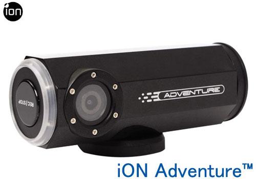 【GPS内蔵アクションウェアラブルカメラ】iON Adventure(アイオン アドベンチャー)【送料・代引手数料無料】≪あす楽対応≫