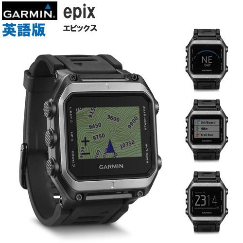 epix 腕時計型GPS 英語版(エピックス英語版)GARMIN(ガーミン)≪あす楽対応≫