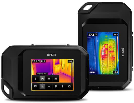 FLIR C2ポケットサイズ 赤外線サーモグラフィ FLIR(フリアー)【送料・代引手数料無料】