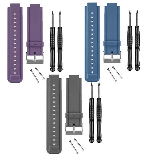 Replacement belt (black/white/red/berry/purple/blue/Slate) GARMIN (Garmin)