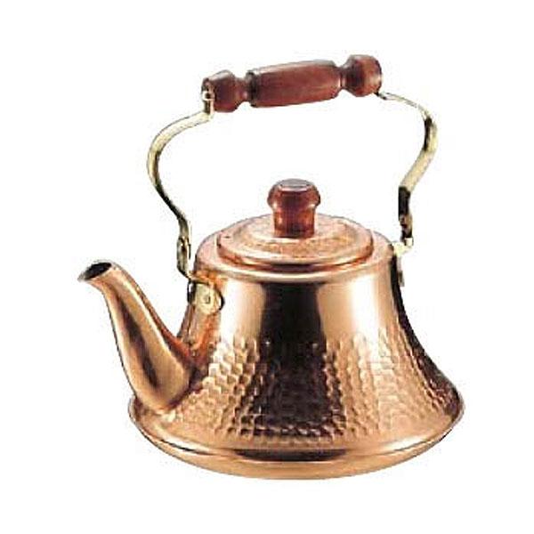 高級感のある銅の日本製やかん。 タケコシ 純銅クラッシーケトル 2.0L 銅やかん 【送料無料】