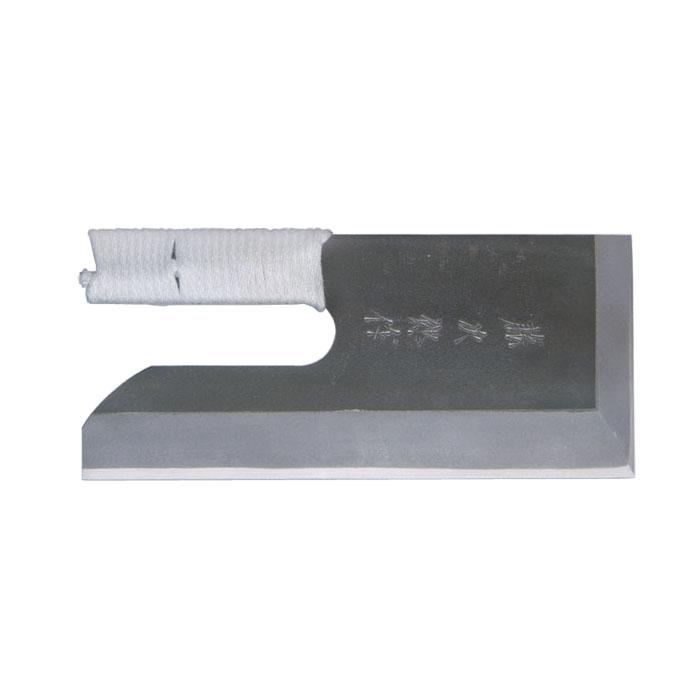 藤次郎 白紙鋼黒打仕上げ そば切り 27cm 紐巻き