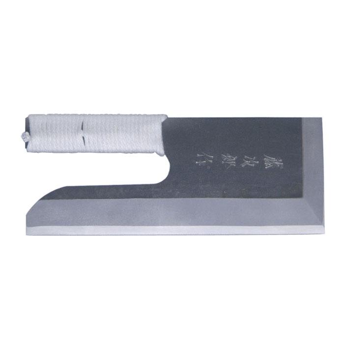 藤次郎 白紙鋼黒打仕上げ そば切り 30cm 紐巻き