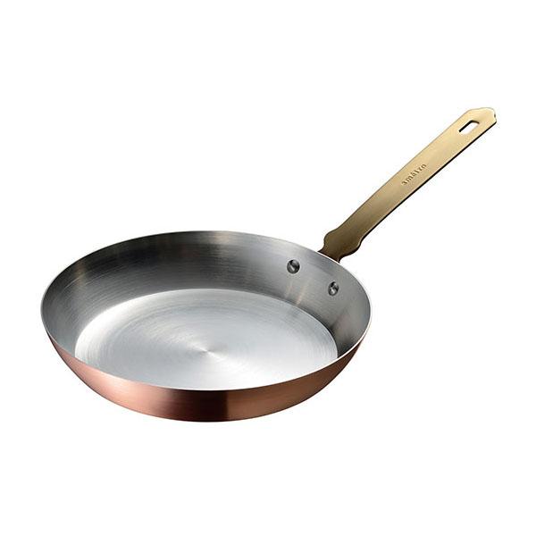 ameiro フライパン20(錫メッキあり) 銅のフライパン