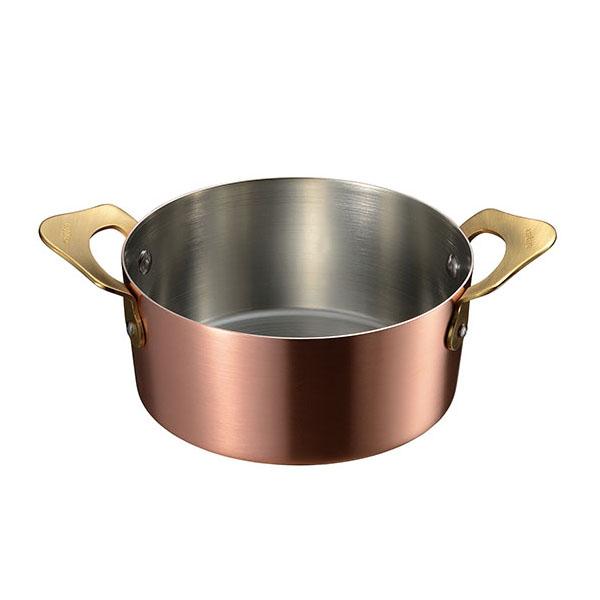 ameiro 小鍋12cm(内側 錫メッキ) 銅の鍋