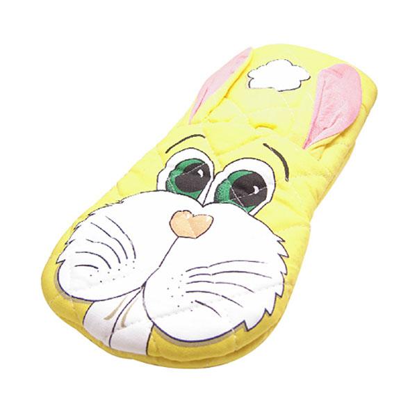 かわいいウサギの鍋つかみ ミトン 1枚 正規品スーパーSALE×店内全品キャンペーン 日本未発売 zak ウサギ アニマルオーブンミット 鍋つかみ