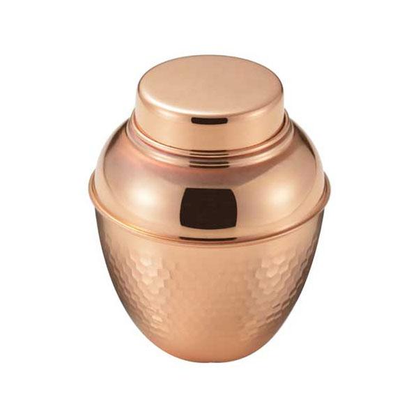 お茶本来の美味しさを引き出す銅製の茶器 高品質 食楽工房 和 なごみ 純銅 中蓋付き 抗菌作用 価格交渉OK送料無料 茶壺
