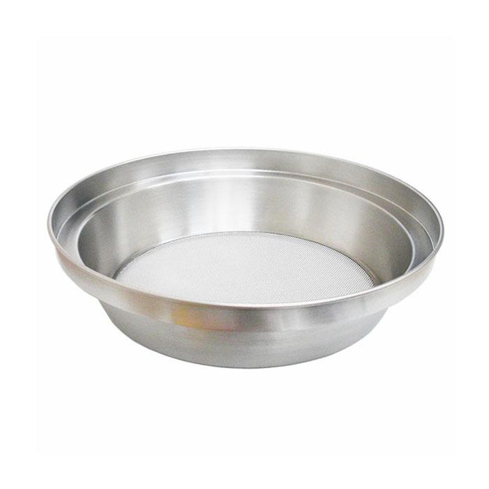 18センチの鍋やミキシングボウルにのせて使える粉ふるい ホーム裏ごし(18型)