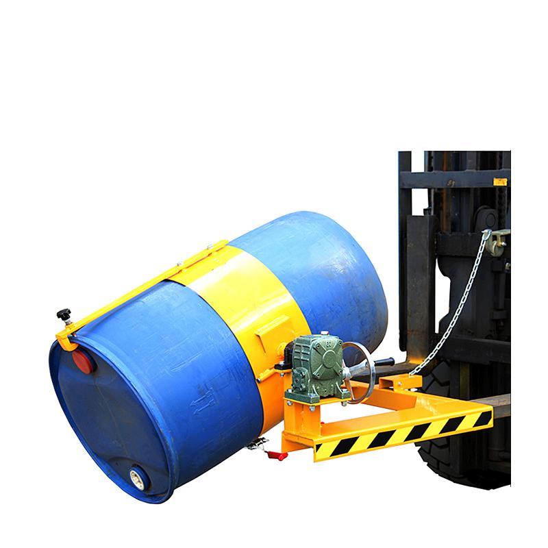 フォークリフト取付用ドラム反転機 ドラム缶反転機 HK285 荷重300kg フォークリフト用 アタッチメント 反転 回転 ギア式 回転機 ドラム反転機 ドラム缶運搬金具 ドラム缶 ドラム缶運搬機 運搬 ドラムダンパー