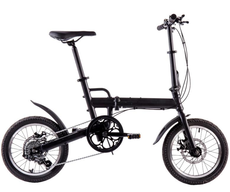 折りたたみ 自転車 16インチ T16bike 小径車 ミニベロ シマノ7段変速機 通勤 通学 便利 おすすめ