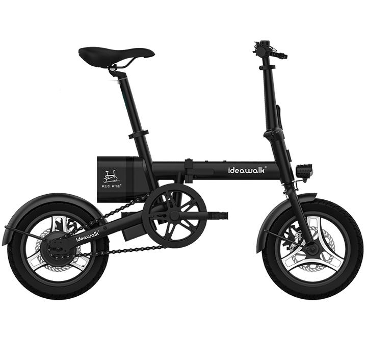 フル電動自転車 F2 モペットタイプ 14インチ 折りたたみ自転車 フル電動 アシスト走行/ペダル走行/フル電動走行