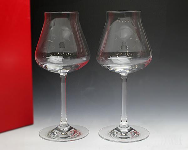 送料無料 バカラ 在庫一掃売り切りセール シャトーバカラ Baccarat Chateau グラス 食器 2611-151 ワイン大 2個入り 2611151 410ml 白ワイン 赤ワイン 引き出物 ギフト セット ペア ワイングラス