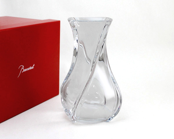 【送料無料】 バカラ ベース 1791-404 セルパンタン 25cm 【花瓶】1791404