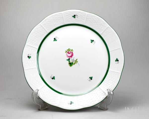 ヘレンド VRH ウィーンのバラ 524/0/00 プレート 25cm 【お皿 ギフト】【あす楽対応】【ラッキーシール対応】