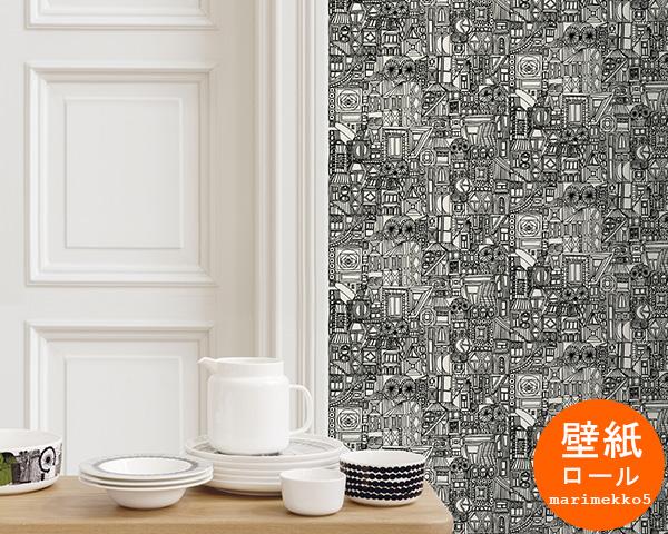 マリメッコ ブビ 壁紙 幅70cm marimekko BUBI Marimekko5 【あす楽対応】【輸入壁紙】【ラッキーシール対応】