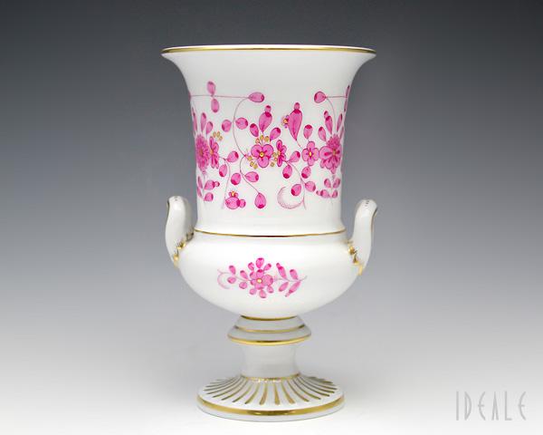 マイセン インドの華ピンク 343410-50760 ベース 【花瓶】【あす楽対応】[決算セール2弾]