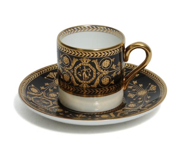 ウェッジウッド アストバリーブラック ボンド コーヒーカップ&ソーサー WEDGWOOD【ラッキーシール対応】【あす楽対応】