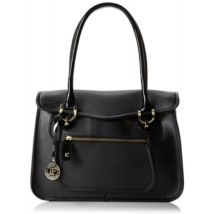 ロンドンフォグ ハンドバック レディース London Fog サリバン ブリーフケース イブニングバッグ Sullivan Briefcase Evening Bag Black/White One Size