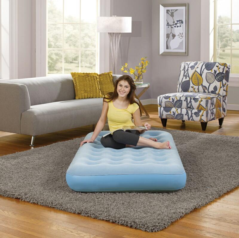 【5%オフクーポン発行中】世界のシモンズ シングル ビューティースリープ スマートエアー 9インチ エアーベッド マットレス キャンプ 来客用 ご自宅で エアーベッド Simmons Beautysleep Smart Aire 9 Inch Twin Size Air Bed Mattress