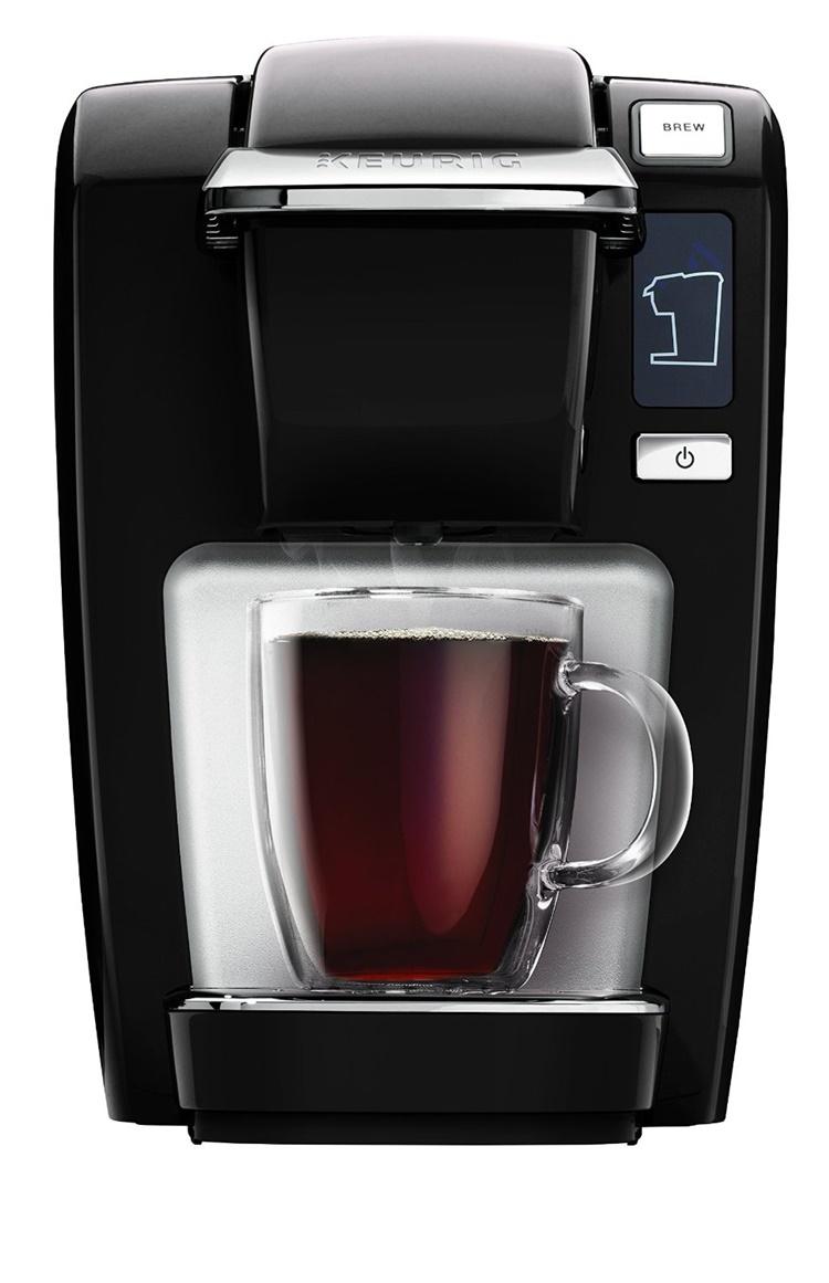 KEURIG キューリグ カートリッジ式 コーヒーメーカー コーヒーマシン Keurig K15 Coffee Maker Black (New Packaging)