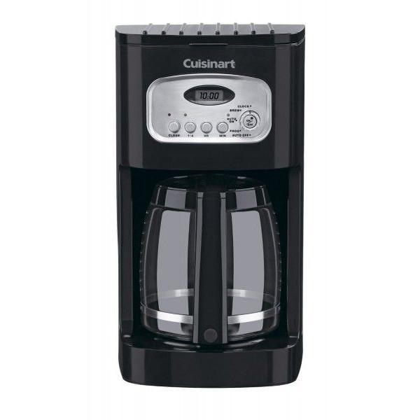 【夏休み限定クーポン5%オフ】コーヒーメーカー クイジナート プログラマブル DCC-1100 12-Cup Coffeemaker ブラック
