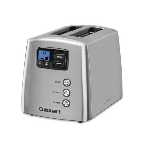 トースター Cuisinart クイジナート レバーレス デジタル 2枚焼き CPT-420 おいしいトーストを!