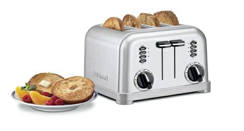 【全品5%OFFクーポン対象】Cuisinart クイジナート CPT-180 メタルクラシック 4スライス トースター ブラッシュステンレス