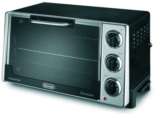 大容量20L!デロンギ DeLonghi RO2058 コンベクションオーブン オーブントースター [DeLonghi RO2058 6-Slice Convection Toaster Oven with Rotisserie]