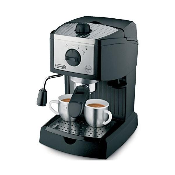 【全品5%OFFクーポン対象】[動画] デロンギ (De'Longhi) コーヒーメーカー EC155 15BAR Pump エスプレッソ&カプチーノメーカー