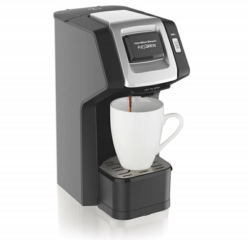 Hamilton Beach ハミルトンビーチ 49974 フレックスブリュー シングルサーブ コーヒーメーカー
