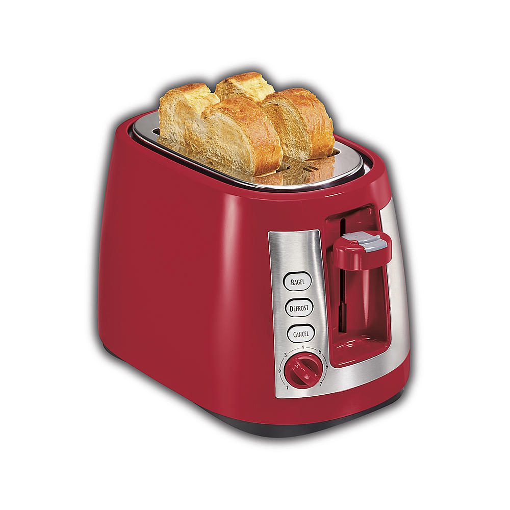 【エントリーで5倍:30日23:59まで】送料無料 人気トースター ハミルトンビーチ レトロな ポップアップ トースター Hamilton Beach 22812 ensemble Extra-Wide Slot 2 Slice Toaster