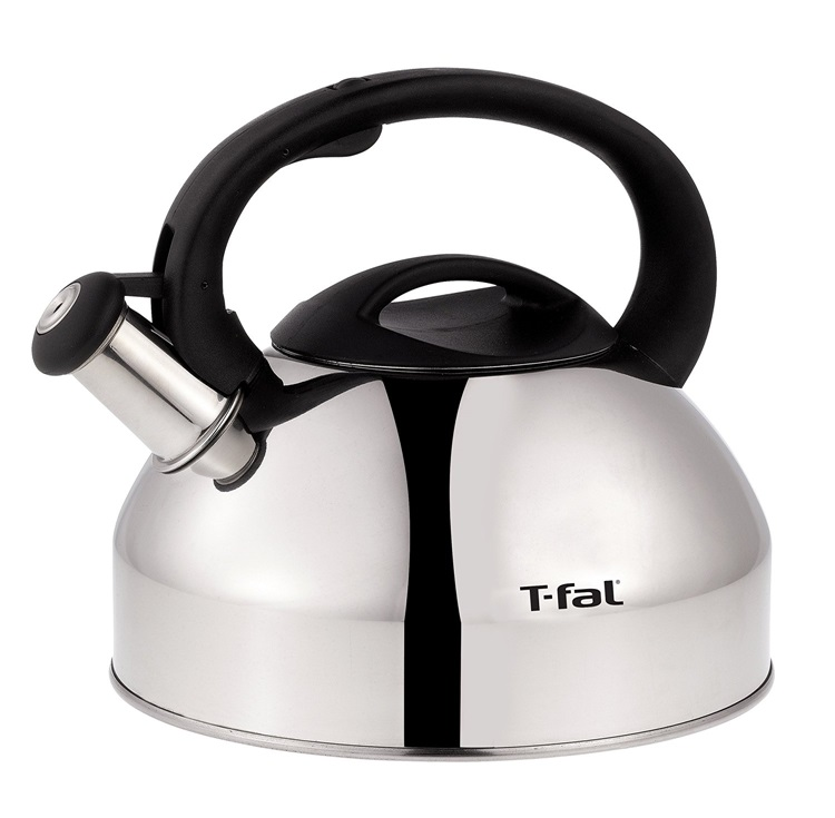 T-fal ティファール C76220 スペシャル ステンレススチール ストーブトップ ケトル Specialty Stainless Steel Dishwasher Safe Whistling Coffee and Tea Kettle 3-Quart Silver