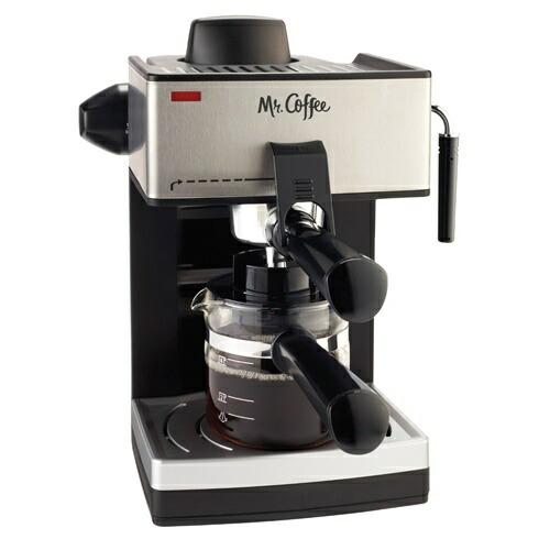 【全品5%OFFクーポン対象】エスプレソ Mr Coffee ECM160 ミスターコーヒー 4カップ スチーム エスプレソマシーン Espresso Machine