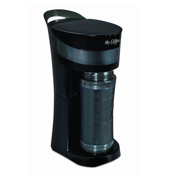 パーソナル コーヒーメーカー Mr. Coffee ミスターコーヒー TO-GOマグ BVMC-MLBL TO-GOマグカップにコーヒーを注いでお出かけも ブラック