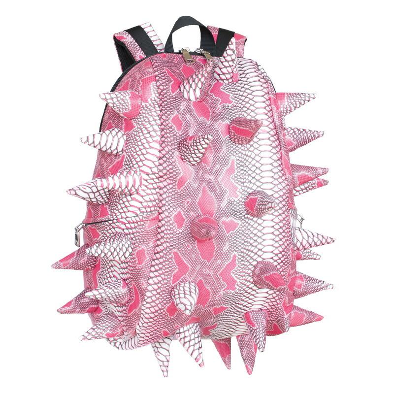 キッズ バックパック 子供用 おしゃれ ブランド リュックサック リュック人気 女の子 マッドパックス 子供 MadPax ハーフパック Spiketus-Rex Pink Extinct