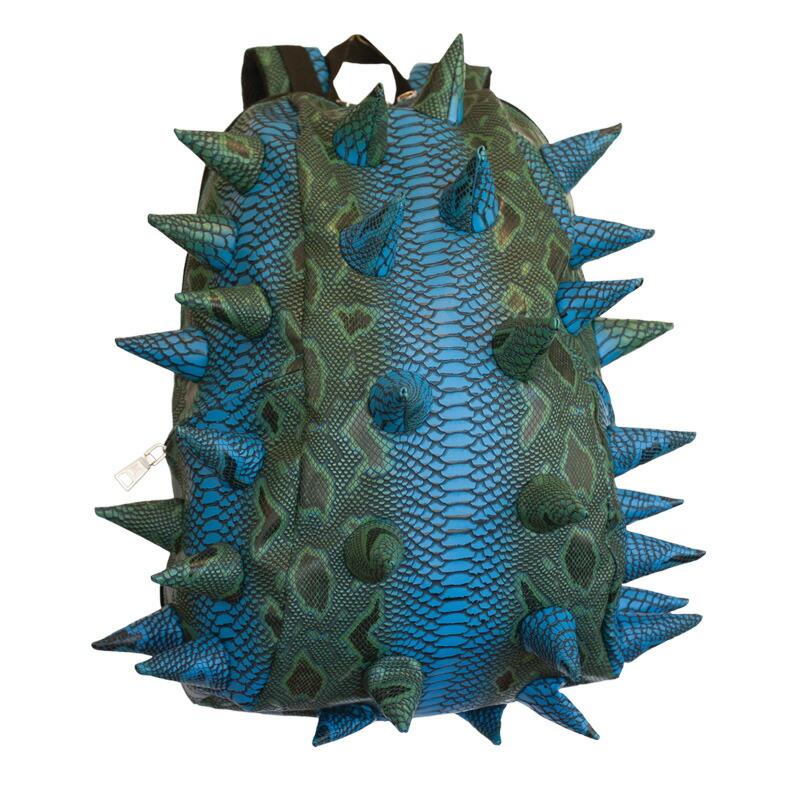 キッズ バックパック 子供用 おしゃれ ブランド リュックサック リュック人気 女の子 マッドパックス 子供 MadPax ハーフパック Spiketus-Rex Blue Mamba