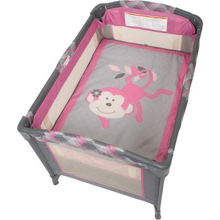 ベビーベッド バシネット ベビートレンド Baby Trend プレイヤード 赤ちゃんベッド 取り外し可能バシネット Nursery Center Playard Kira