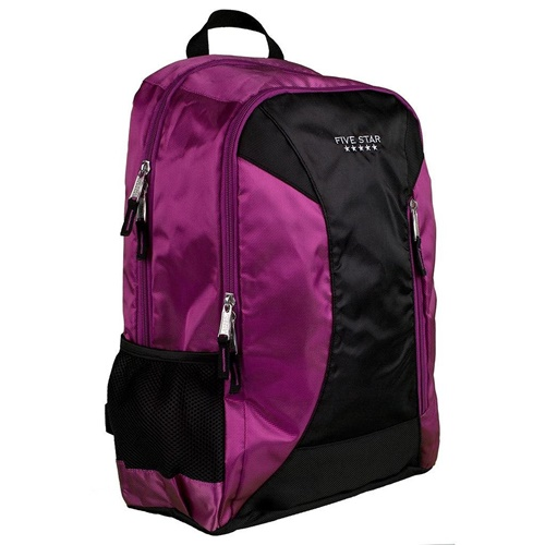 アメリカ 定番 ファイブスター Five Star スクール ビジネス バックパック 16インチラップトップ収納可能 多用途 ビジネスバッグ Purple 送料無料