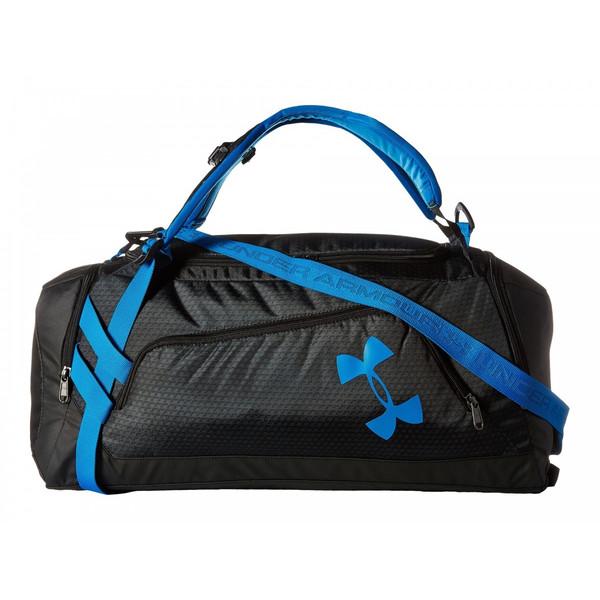 アンダーアーマー バッグ バックパック ダッフルバッグ メンズ Under Armour UA Contain Duo Backpack/Duffel Black/Stealth Gray/Electric Blue