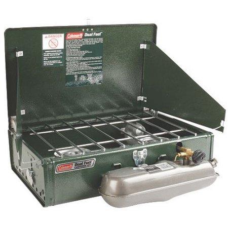 コールマン ツーバーナー コンロ Dual Fuel ガソリン コールマン Coleman 2 Burner Dual Fuel Compact Liquid Fuel Stove