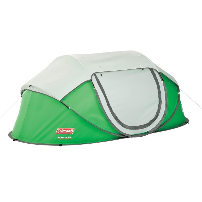 コールマン テント ポップアップ 2人用 軽量 ソロ 輸入テント Coleman 2-Person Instant Pop-Up Tent