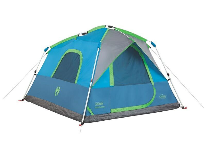 コールマン テント 4人用 キャンピング インスタント シグナル マウンテンテント Coleman Camping Instant Signal Mountain Tent