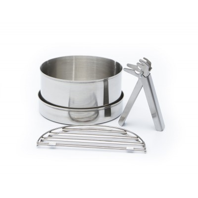 ケリーケトル クックセット 大 ステンレス Cook Set Stainless Steel Large for Base Camp or Scout Models