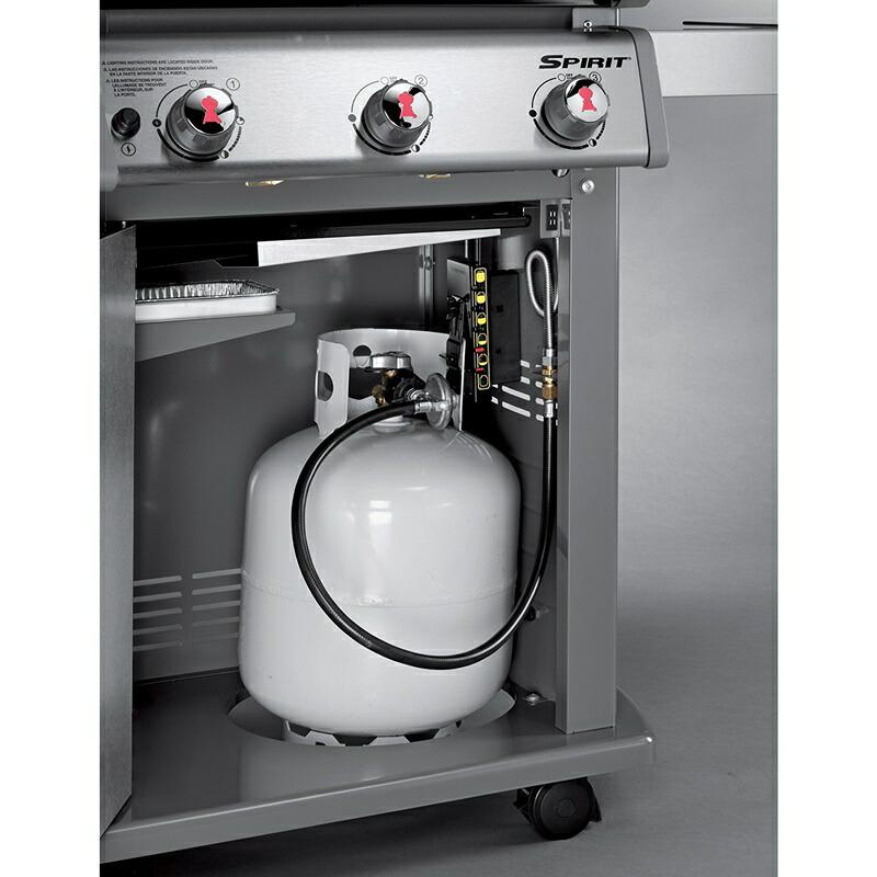 weber (ウエーバー) スピリット E210 プロパン ガス バーベキューグリル 46110001