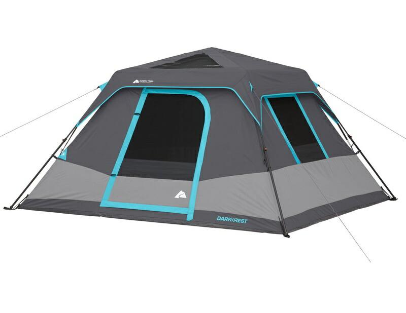 輸入テント オザクトレイル テント 6人用 遮光 家族でキャンプ インスタント キャビンテント 大型テント Ozark Trail 6-Person Dark Rest Instant Cabin Tent