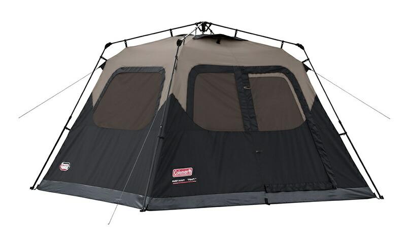 輸入テント コールマン テント 6人用 インスタント キャビンテント レインフライ付き 輸入 Coleman 6-Person Instant Cabin Tent with Rainfly Accessory